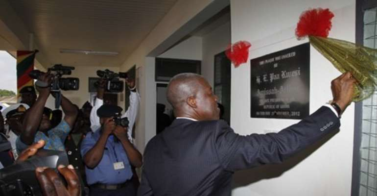 Veep links Ghana's economic growth to support from World Bank