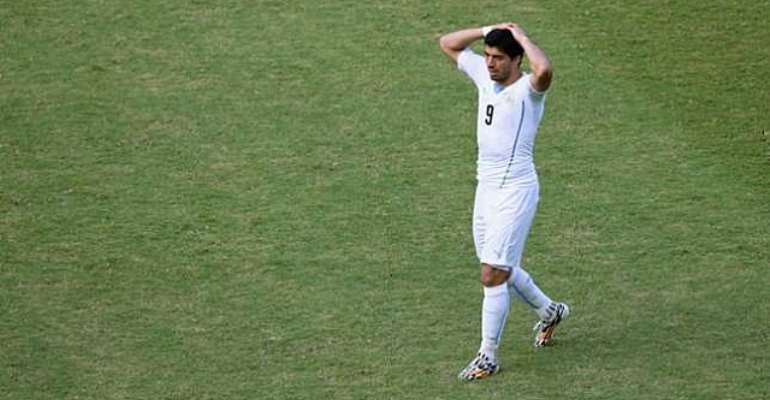 BANNED! Luiz Suarez suspended for 9 matches and 4 months