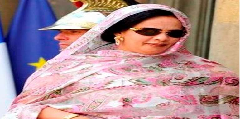 Mauritania First lady Mariem Mint Ahmed