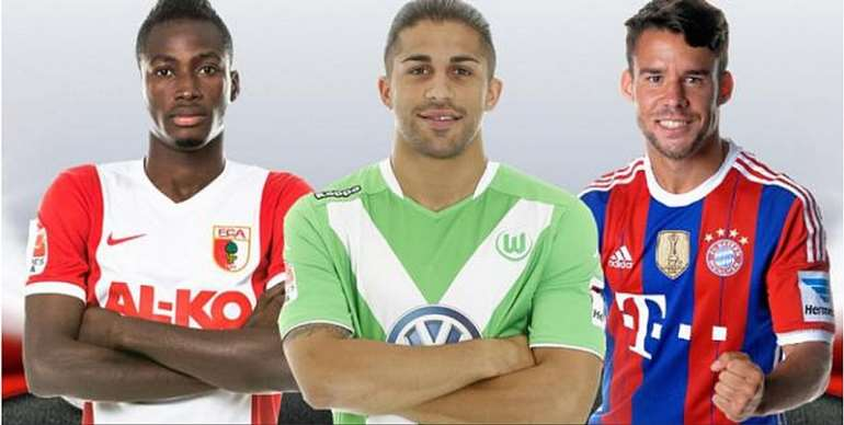 Baba Rahman shortlisted for the Bundesliga left-back of the season.