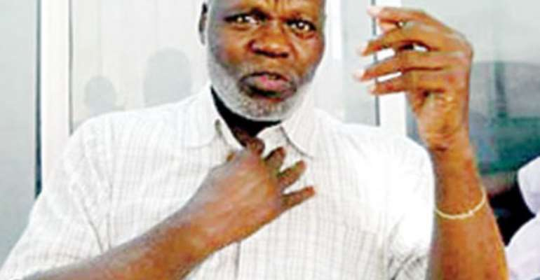 BASH ALI CAUSES SECURITY SCARE IN ABUJA