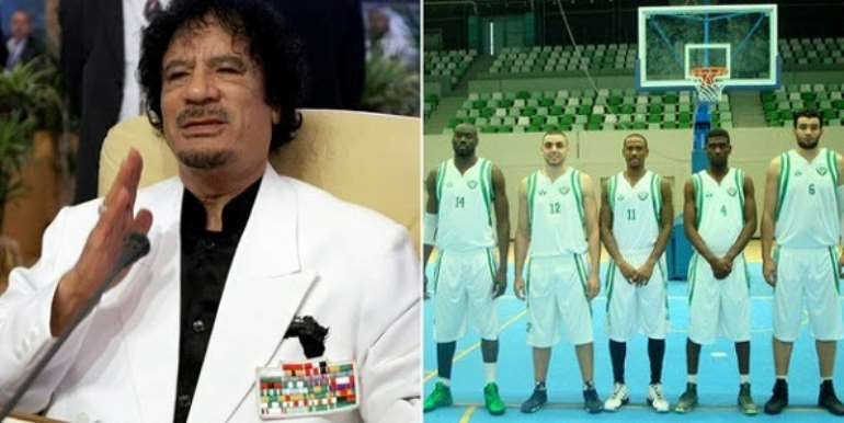 THE LIBYAN CONFLICT:  A BASKETBALL'S PLAYER'S STORY TO GIVE YOU HOPE IN LIFE