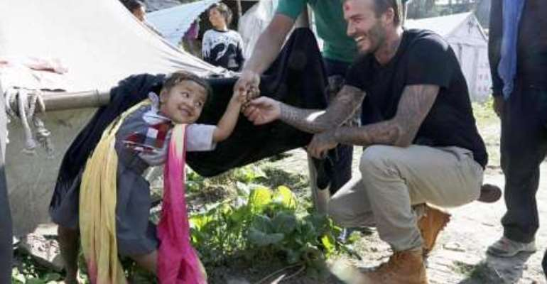 Sir David Beckham: Viewers want Beckham knighted after touching documentary