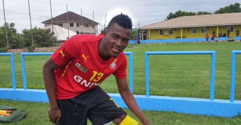 Bernard Mensah scored for Ghana
