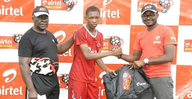 Ashanti Airtel Rising Stars winners target World Cup appearance