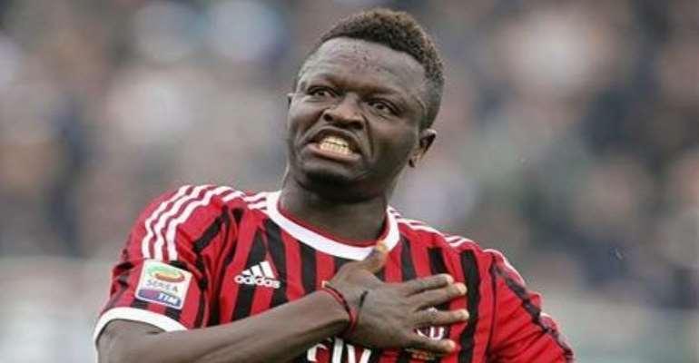 Muntari back in regular action for AC Milan