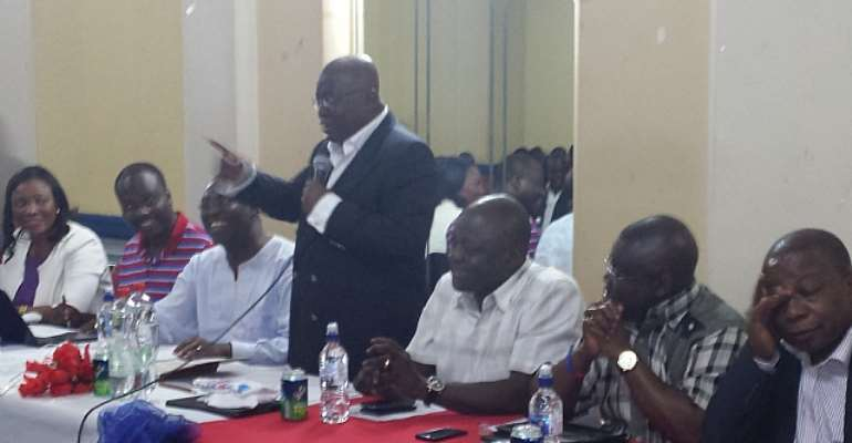 Manage The Party As A Corporate EnterpriseAkufo-Addo Tells NPP Executives