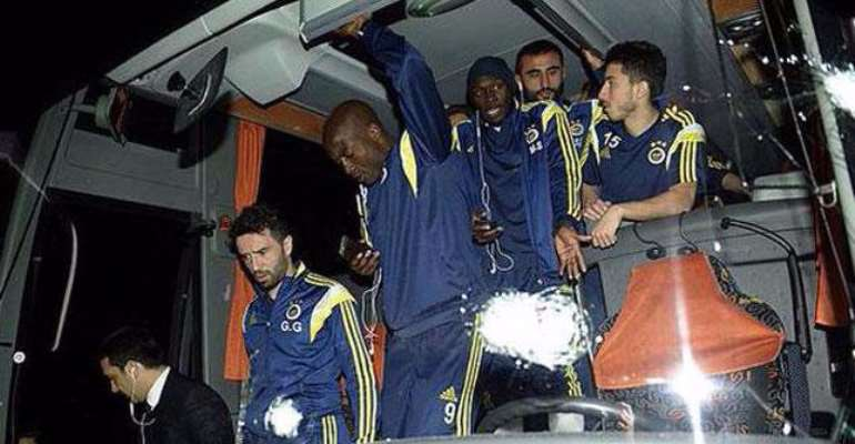 Turkish league halted after Fenerbahce bus attack