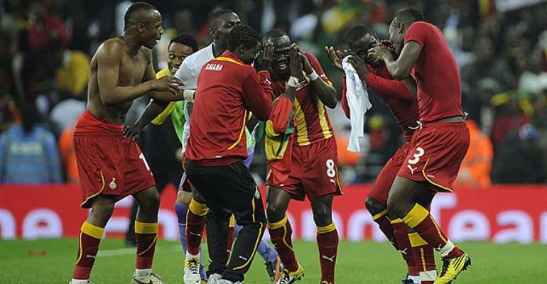 Black Stars are chasing a third successive World Cup appearance
