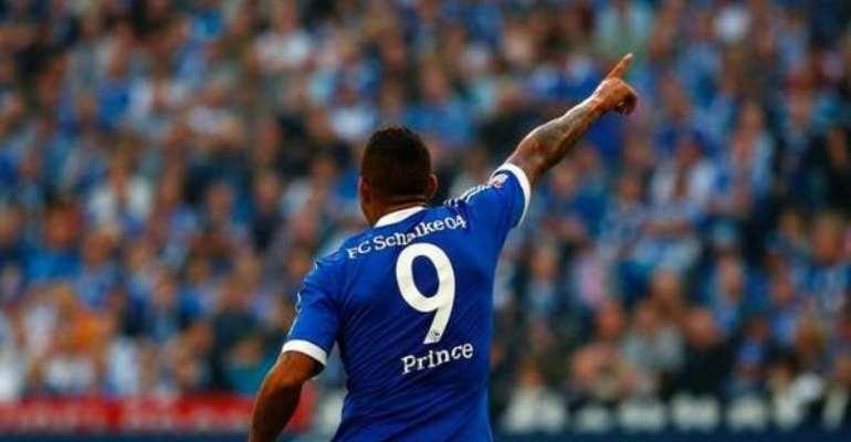 Kevin-Prince Boateng scored twice in Schalke's win over Bremen