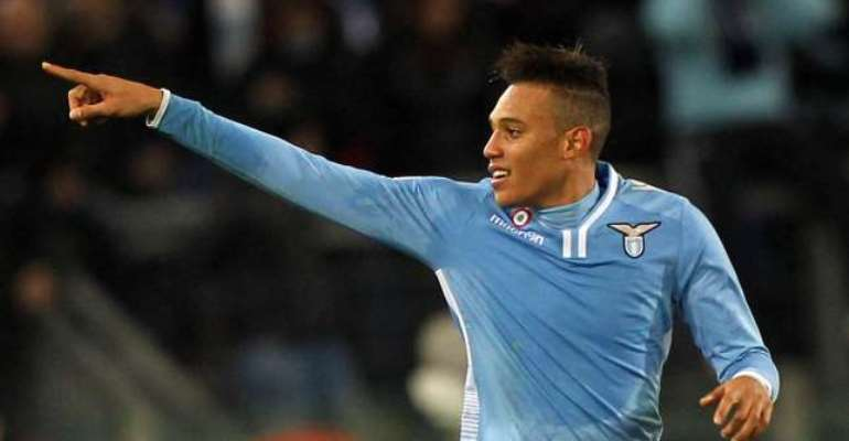 Undermanned Lazio recall Brayan Perea from Perugia loan