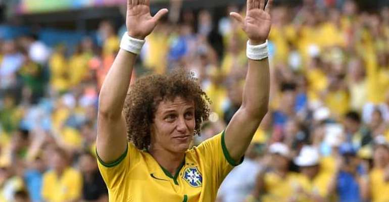 David Luiz played through the pain barrier to help Brazil into the quarter-finals