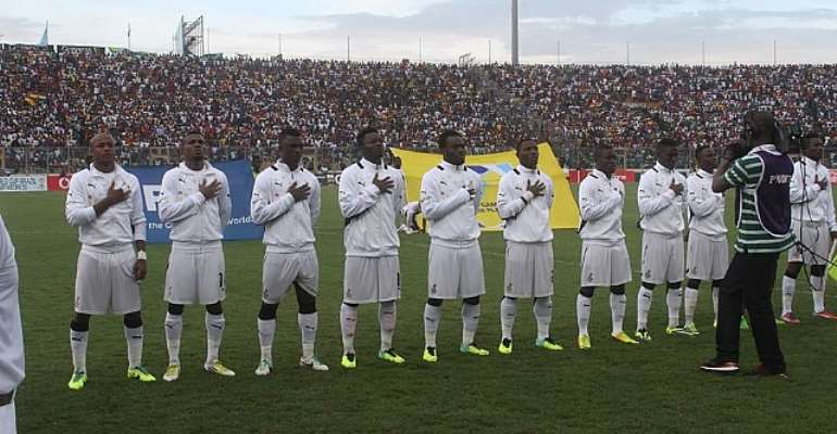 Ghanaian players psyched up for Cairo clash