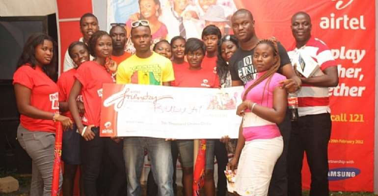Airtel awards winners of 7th and 8th week 'airtel friendzy' promotion