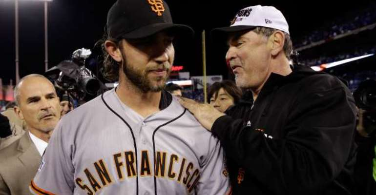 Plaudits come for MVP Madison Bumgarner