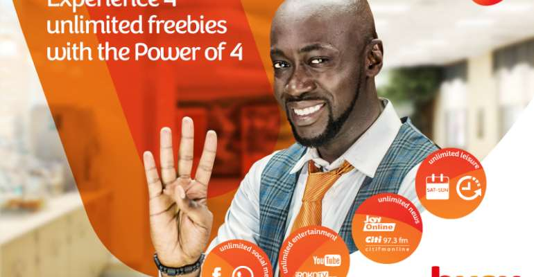 "Busy launches ""Power of 4"" to give customers unlimited freebies"