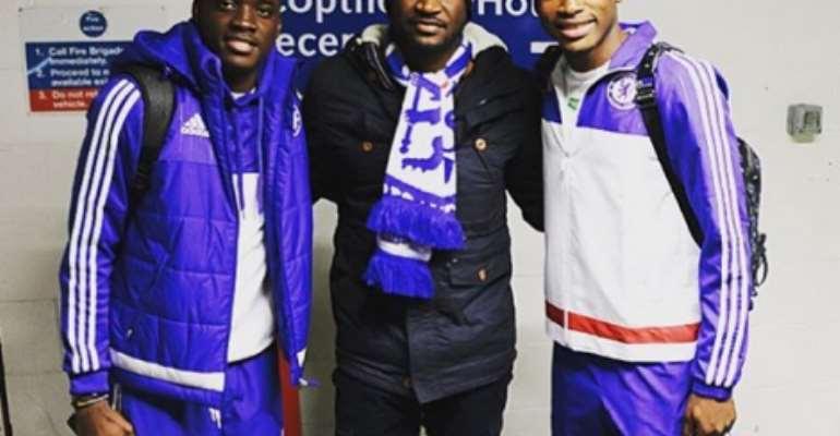 Abdul Baba Rahman: Ghanaian football star meets Nigerian music star