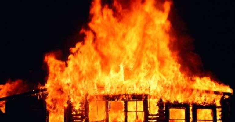 Techiman: Triplets Burnt To Death