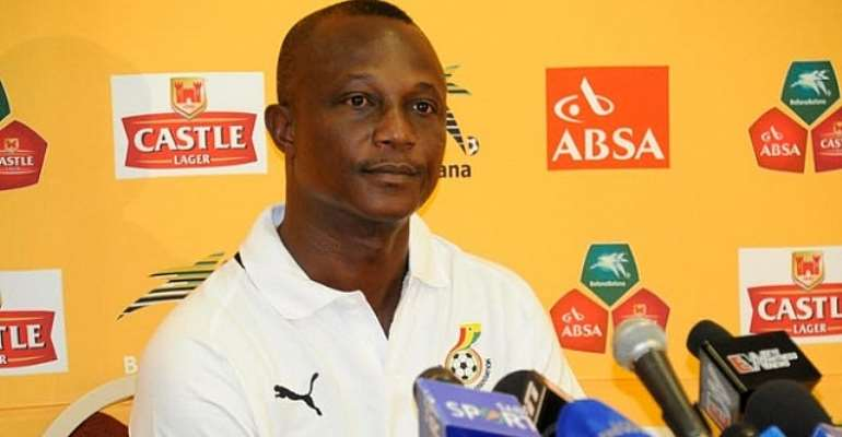 Kwesi Appiah wants more from Ghana
