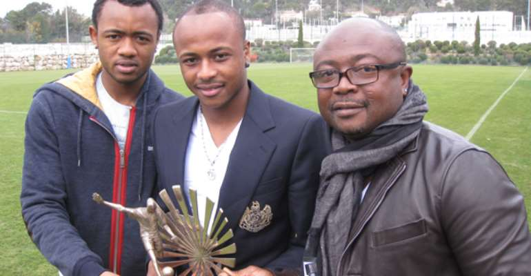 Maestro Abedi Pele to face sons in the Vodafone Unity Cup
