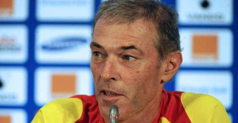Dussuyer the GONER: Guinea coach quits after Ghana heartbreak