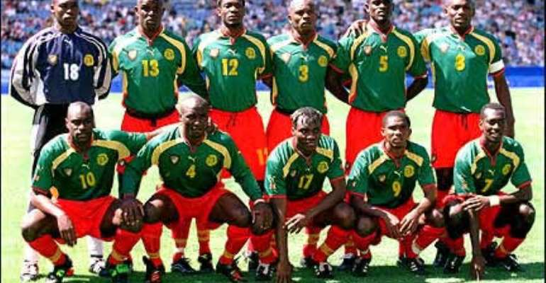 Cameroon move up world rankings