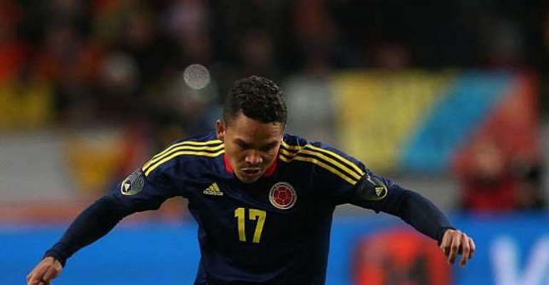 Colombia's Carlos Bacca to miss Ivory Coast World Cup clash