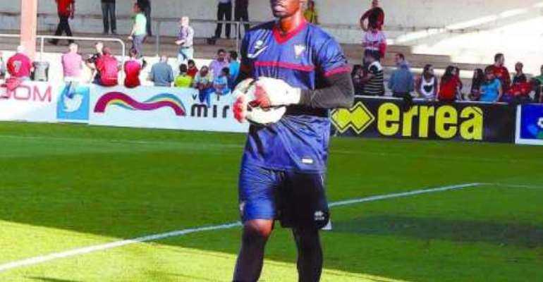 Razak Brimah: Ghana goalkeeper closes in on Spanish La Liga promotion