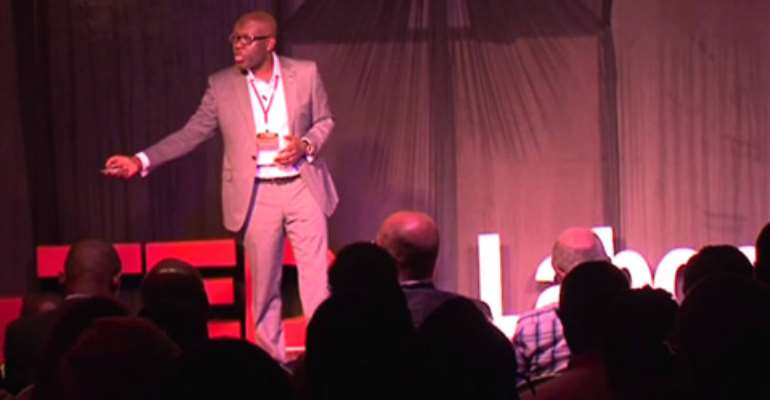 TEDxLabone 2014: Kojo Oppong Nkrumah speaks about 'Why I believe in Africa'