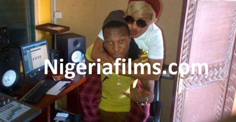 TONTO DIKEH & SOLIDSTAR IN A LOVE RELATIONSHIP [PICTURES]