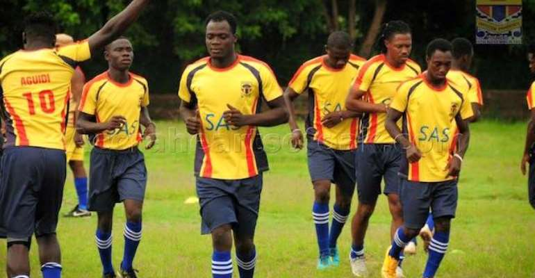 Hearts of Oak- Great Olympics Homowo match called off