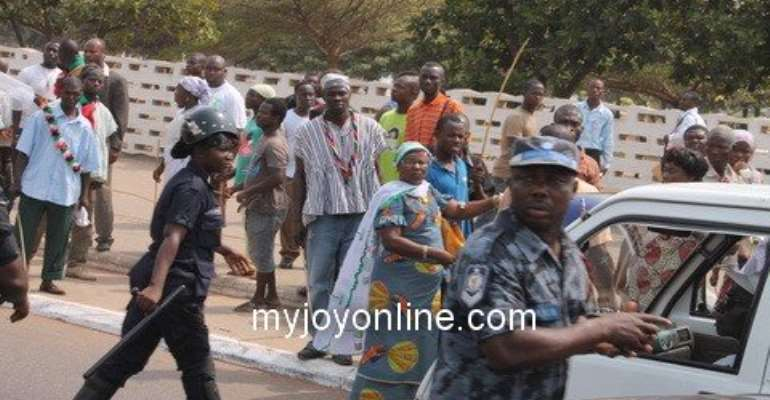 Tension mounts in Salaga South as two NDC groups set to clash tomorrow