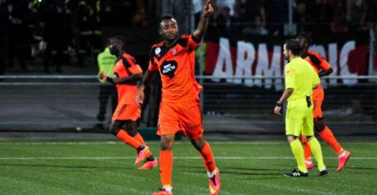Ghana striker Jordan Ayew named among the 10 Most Intriguing Ligue 1 Players
