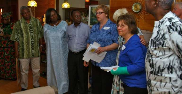 Chief Justice of Ghana visits Livingston County New York