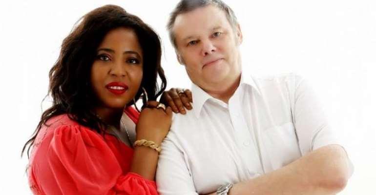 Chioma Toplis Finally Unveils White Husband's Photos