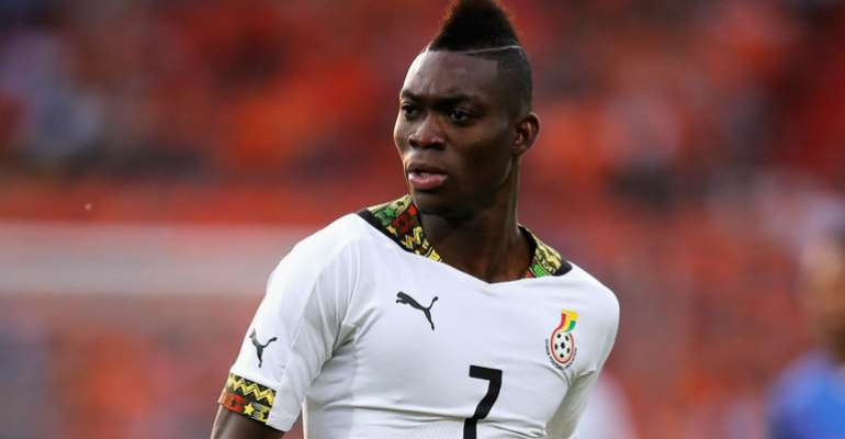 Christian Atsu is being unveiled