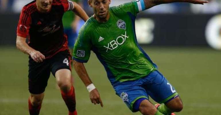 MLS: Seattle Sounders 2 Portland Timbers 0: Eastern Conference leaders leave it late in MLS