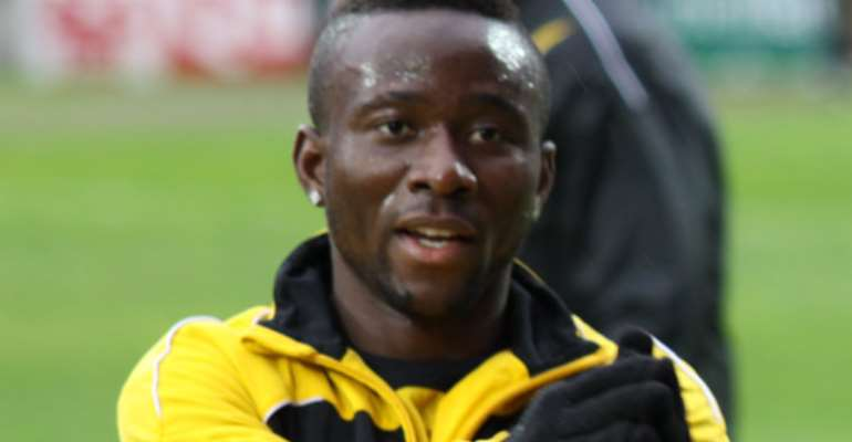 Cofie Bekoe: Sundowns to make late decision on Ghanaian midfielder