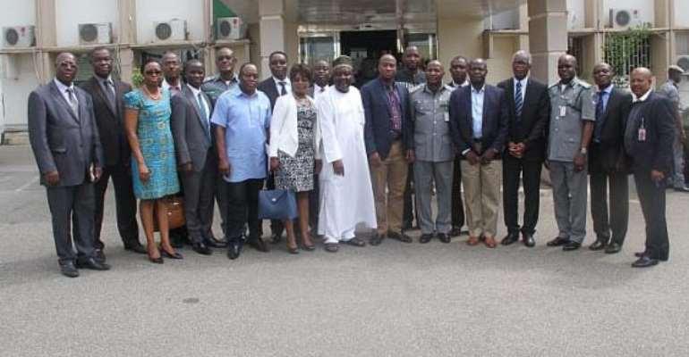 Ghana Team Visits Nigeria Customs Service