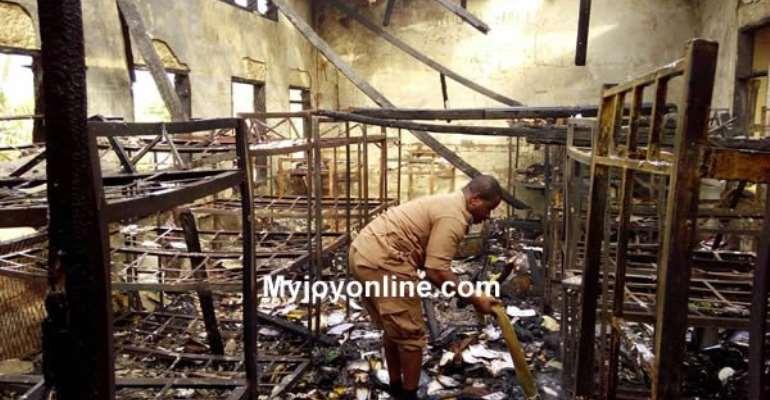 Bekwai SDA SHS ravaged by fire