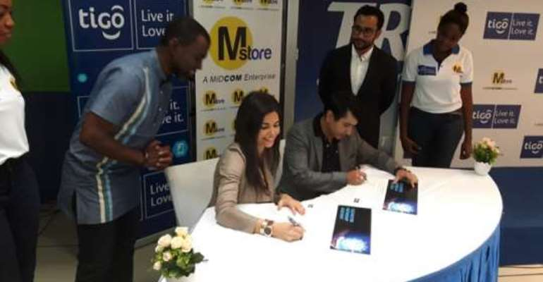 Tigo Ghana and Mstoreglobal sign partnership deal