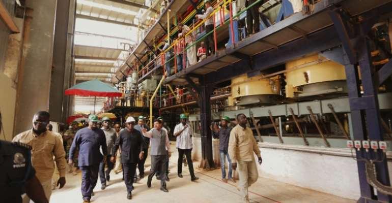 Komenda Sugar Factory to create more than 7,000 jobs