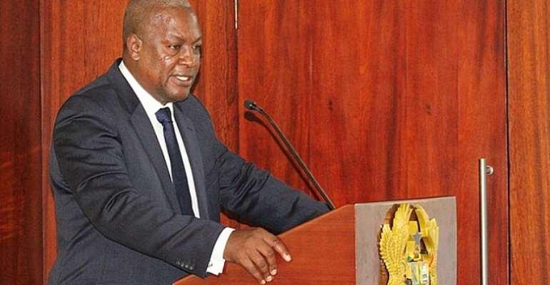Ghanaians have very short memory- President Mahama
