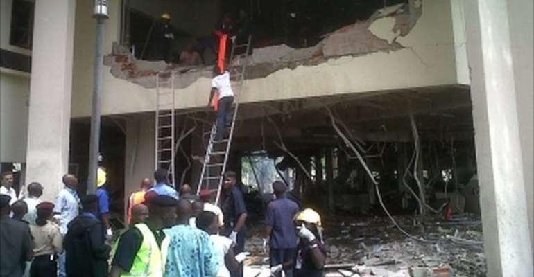 DEADLY BOMB BLAST ROCKS NIGERIA UN BUILDING