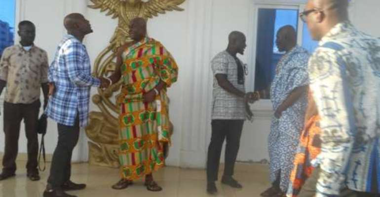 Osu Mantse urges Ghanaians to resist political conflicts