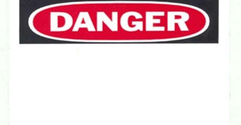 Danger On Kaneshie Footbridges