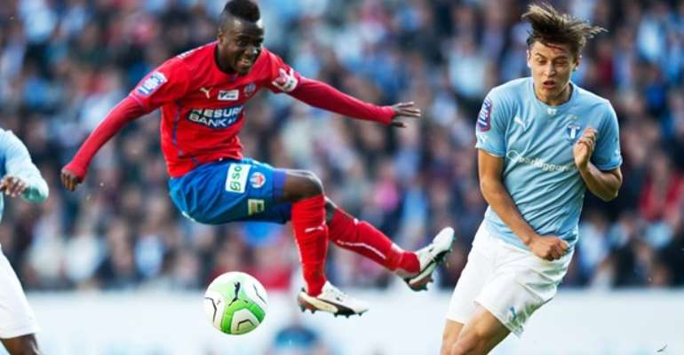 David Accam: Helsingborg IF star not worried by lengthy spell on Ghana bench