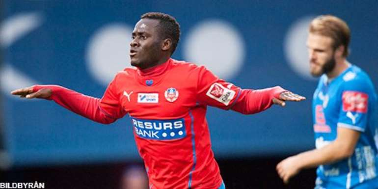 Performance of Ghanaian stars abroad: Accam and Gyan on the double, Kudemor, Boakye-Yiadom, Otoo, Kevin Mensah, Antwi, Wakaso and Basit all on target
