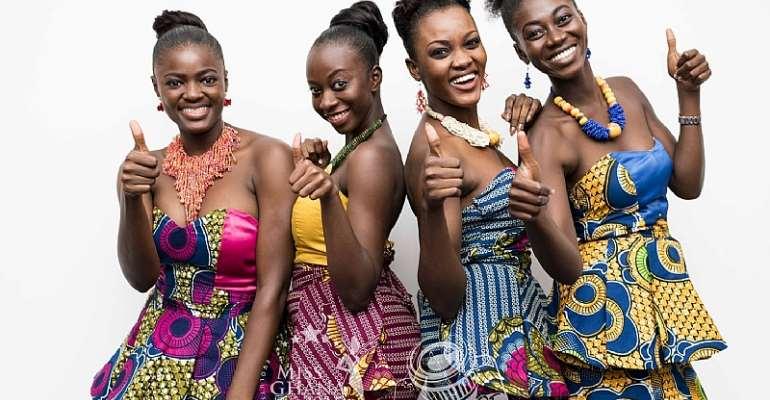 Four (4) Qualify For Miss Ghana 2015 From Takoradi