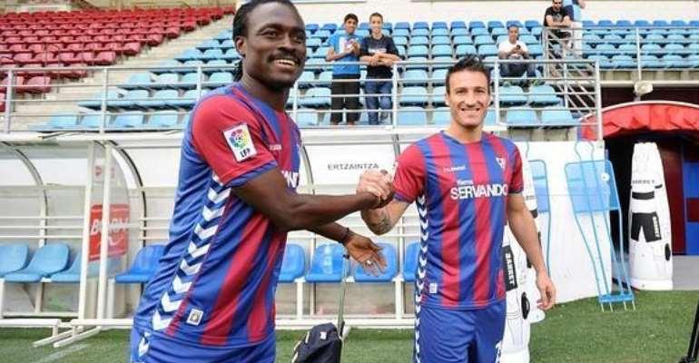 Derek Boateng still without Spanish La Liga debut for Eibar